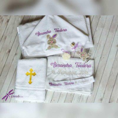 Trusou botez personalizat Iepuras