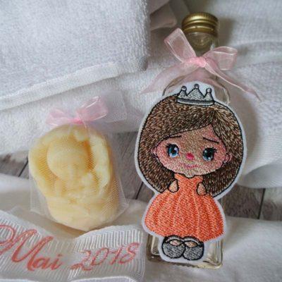 Trusou botez personalizat Printesa