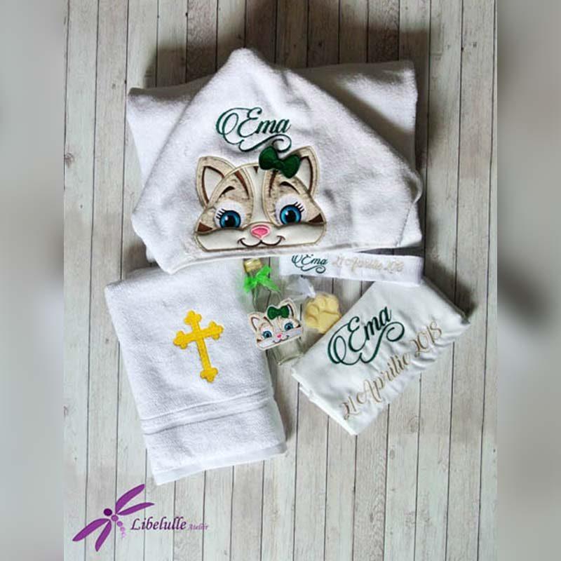 Trusou botez personalizat Pisica