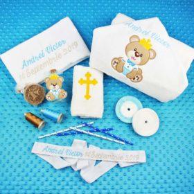 Trusou botez personalizat Ursulet rege